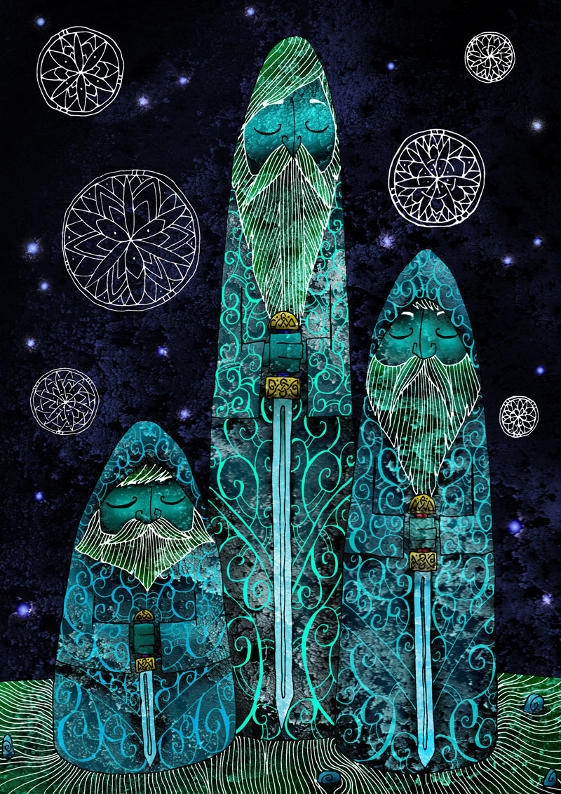 Stone Brothers - Tom Charlesworth Illustration